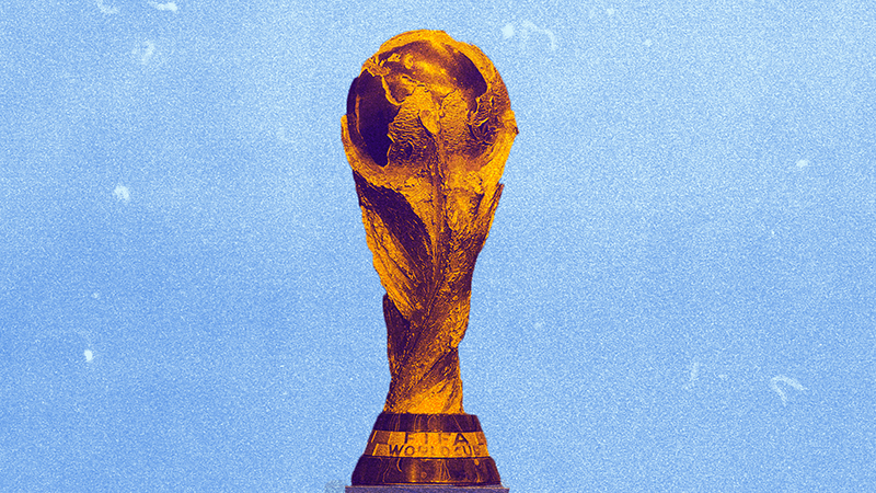 The FIFA World trophy.