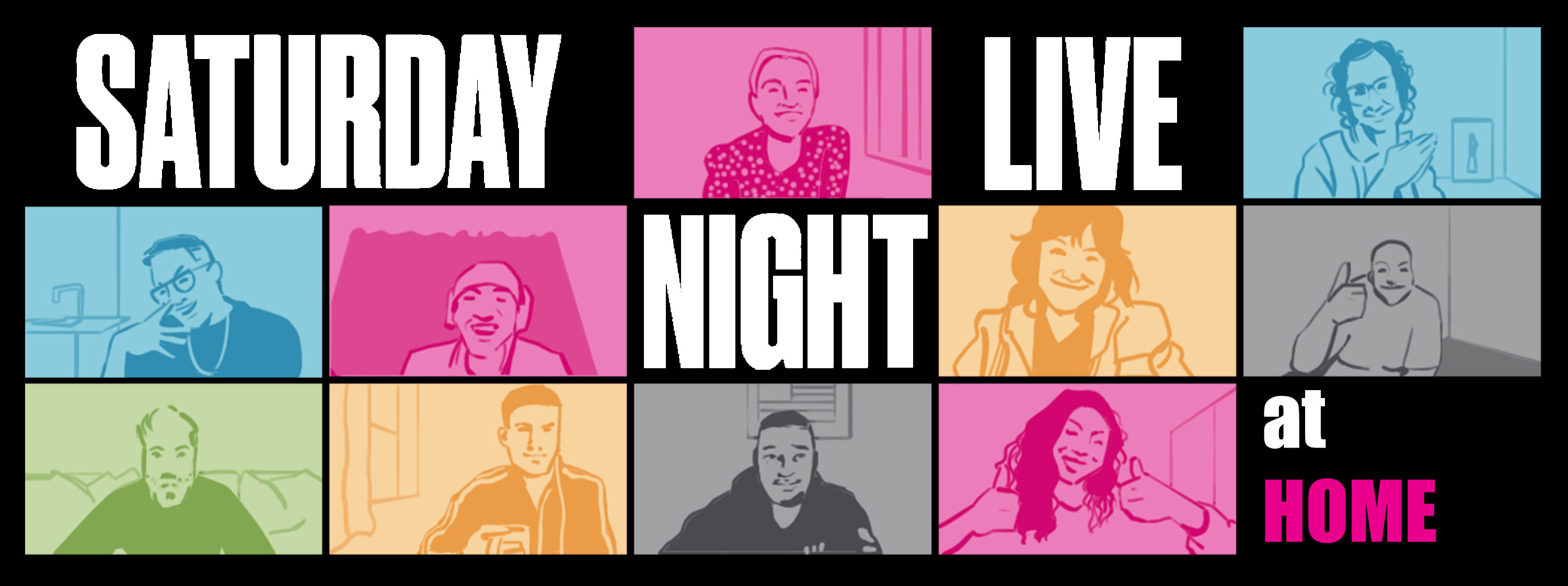 The SNL cast