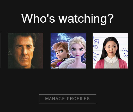 "Netflix ""Who's Watching?"""