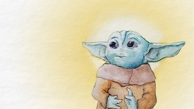 Our lord and savior Baby Yoda