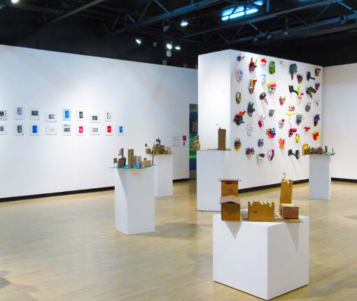 Image of the young Artists' Camp gallery