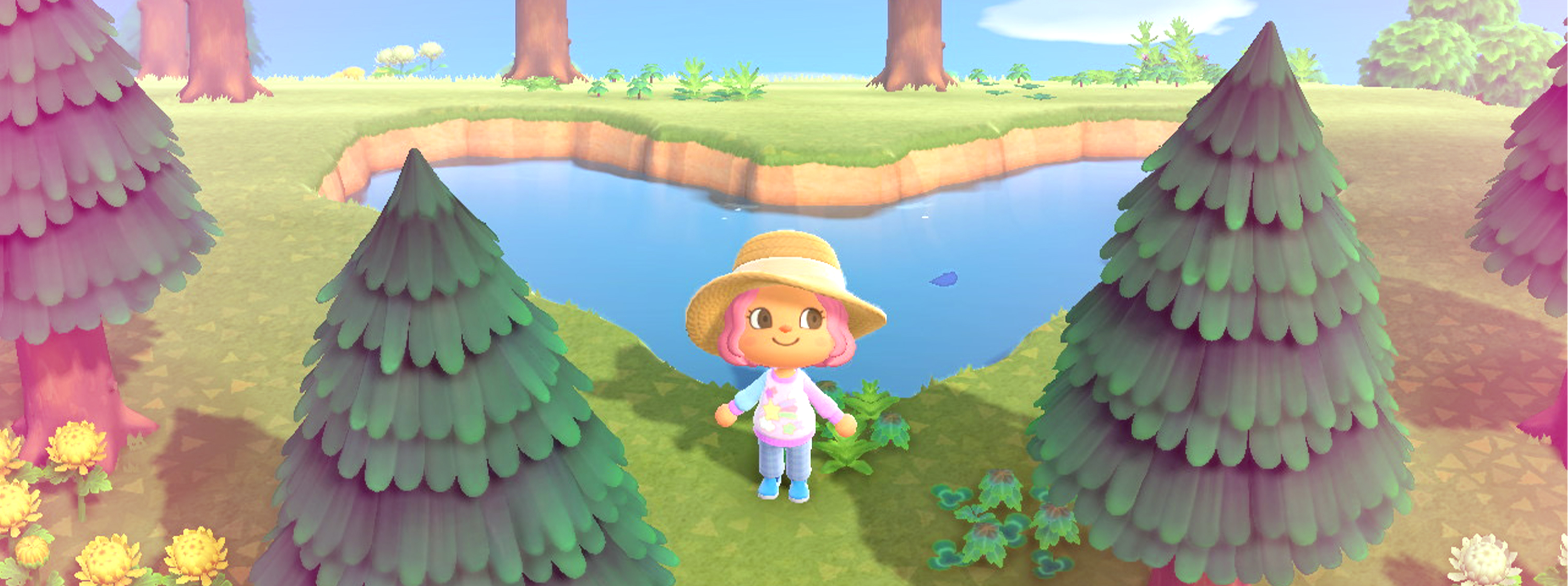 Screen shot from Animal Crossing New Horizons