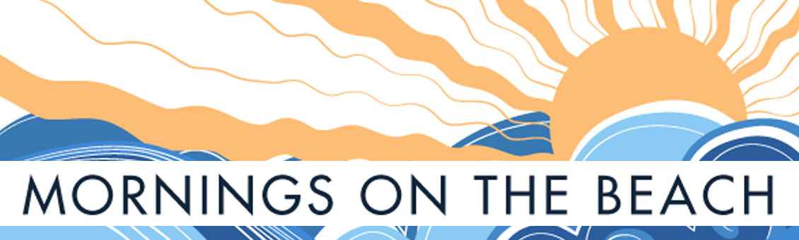 Mornings on the Beach full logo